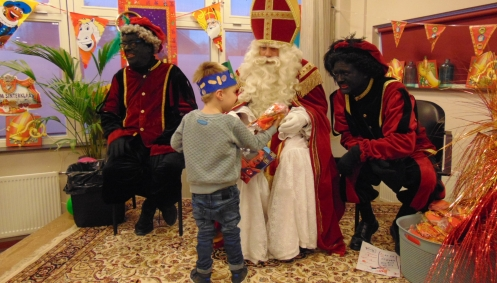 Sinterklaas in 't Houwke
